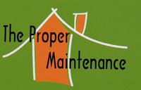 logo, the proper maintenance